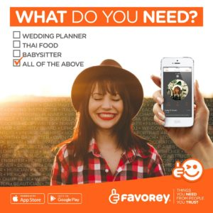 Favorey-advert